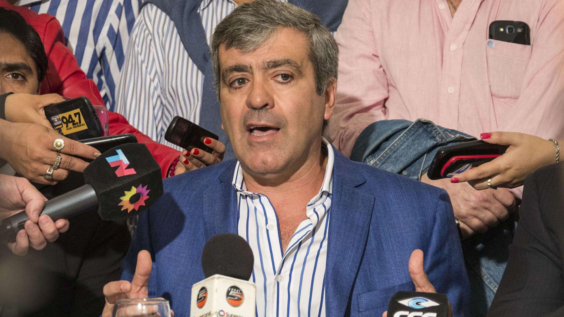 El diputado radical José Cano