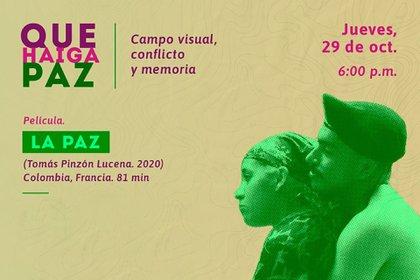 """""""Que haiga paz"""", una franja de cine para repensar el papel del séptimo arte en el conflicto armado Colombiano. Foto: cortesía Comisión de la Verdad."""