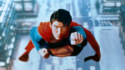 "Christopher Reeve en ""Superman""(Grosby Group)"