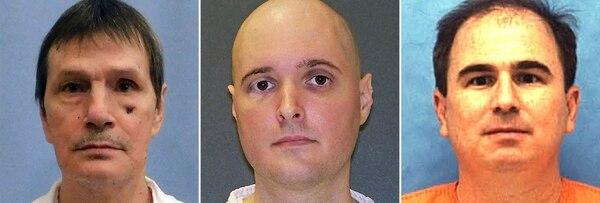 Doyle Lee Hamm, Thomas Whitaker y Eric Branch, tres condenados a muerte en EEUU
