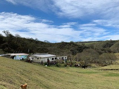 El paraje Mala Mala está cerca de Tafí del Valle, Tucumán
