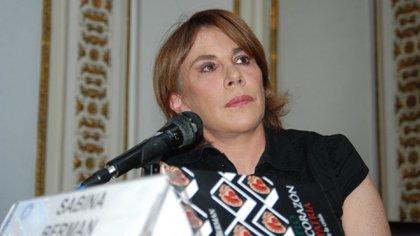 Sabina Berman (Foto: Cuartoscuro)