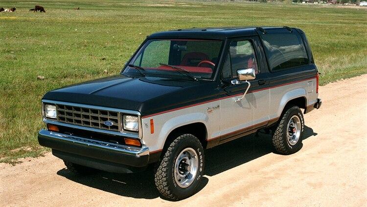 La Bronco cuarta generación, de 1987.