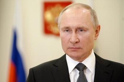 El presidente ruso Vladimir Putin. Foto: Sputnik/Alexei Druzhinin/Kremlin via REUTERS