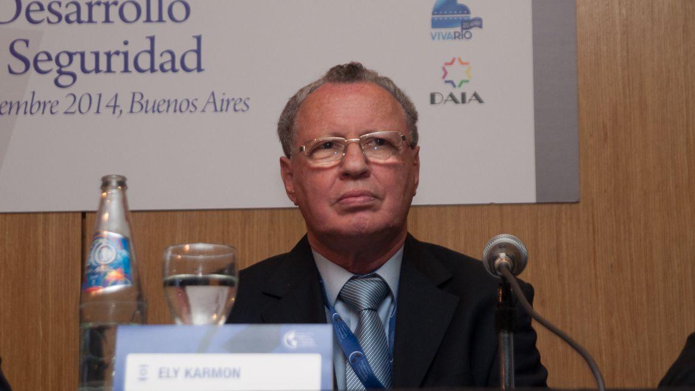 El politólogo israelí Ely Karmon (Adrián Escandar)