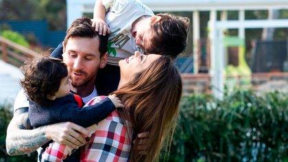 A Messi se lo conoce por ser una persona que disfruta de pasar tiempo con su familia
