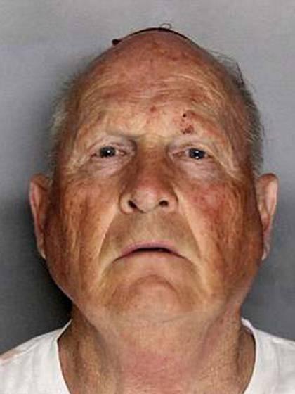 Joseph James DeAngelo, el día que fue detenido el 25 de abril pasado