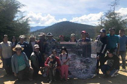 Un grupo de aldeanos nahuas podría hacer historia en México si un tribunal resuelve una disputa de tierras que involucra a un minero canadiense (Foto: Reuters)