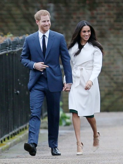 Harry y Meghan Markle están en negociaciones para definir cuál será su rol en la corona sin tener compromisos formales de alto rango (Shutterstock)