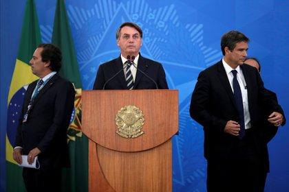 El presidente de Brasil, Jair Bolsonaro. REUTERS/Ueslei Marcelino
