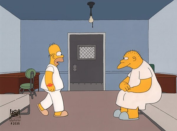 Michael Jackson interpretó a un personaje psiquiátrico en la tercera temporada de Los Simpsons (Matt Groening)