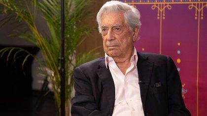 Vargas Llosa, en la Feria de Guadalajara de 2019