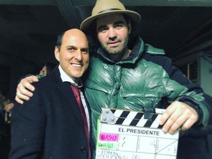 Armando Bó y Andrés Parra (Crédito: @armandobo)