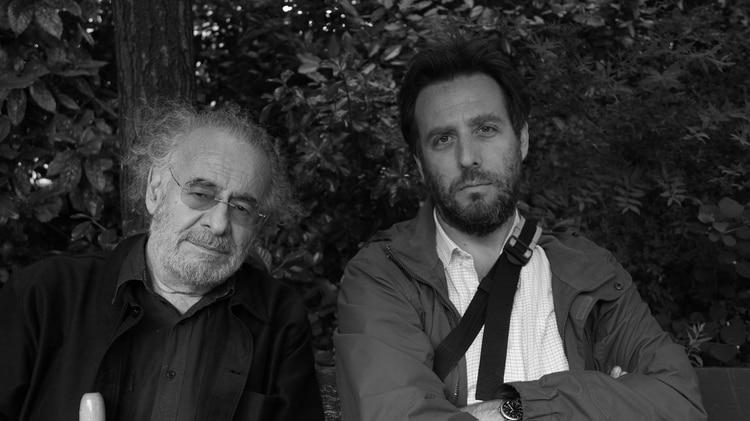 Hugo Santiago y Mariano Llinás