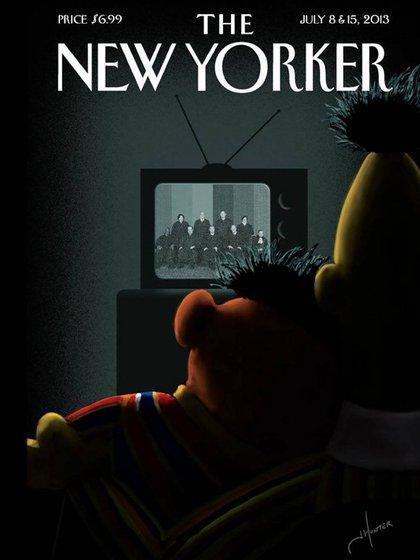 La tapa del New Yorker sobre Beto y Enrique