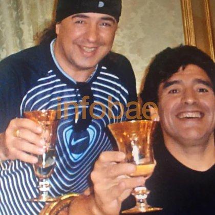 Aunque terminaron su relación laboral, Buono y Diego nunca dejaron de hablar