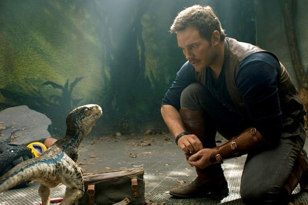 "Chris Pratt en ""Jurassic World: Fallen Kingdom."" Universal Pictures"