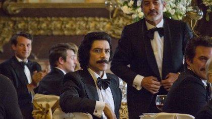 El actor Óscar Jaenada se lució en su interpretación de Luisito Rey, el padre de Luis Miguel