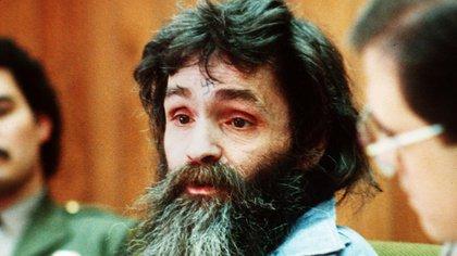 Charles Manson en 1986. Él y sus seguidores fueron condenados a la pena de muerte, pero en 1972 la sentencia fue convertida en cadena perpetua debido a la abolición de la pena de muerte en California (AP)