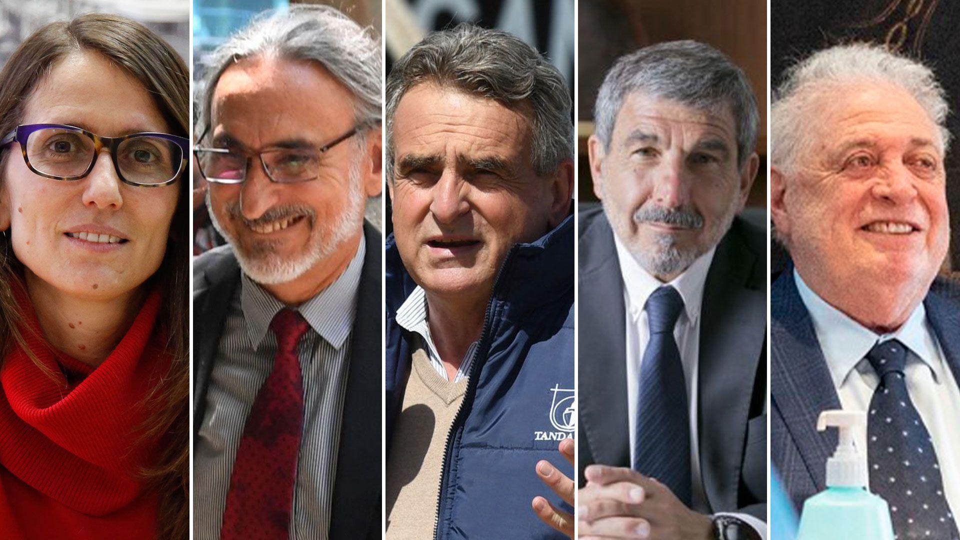 Gabinete Nacional - Elizabeth Gomez Alcorta, Luis Basterra, Agustin Rossi, Roberto Salvarezza  y Gines Gonzalez