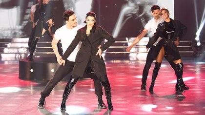 Flor Torrente recreando el espíritu de Cher. Hubiera preferido que fuera el de su mamá (Foto: LaFlia / Negro Luengo)