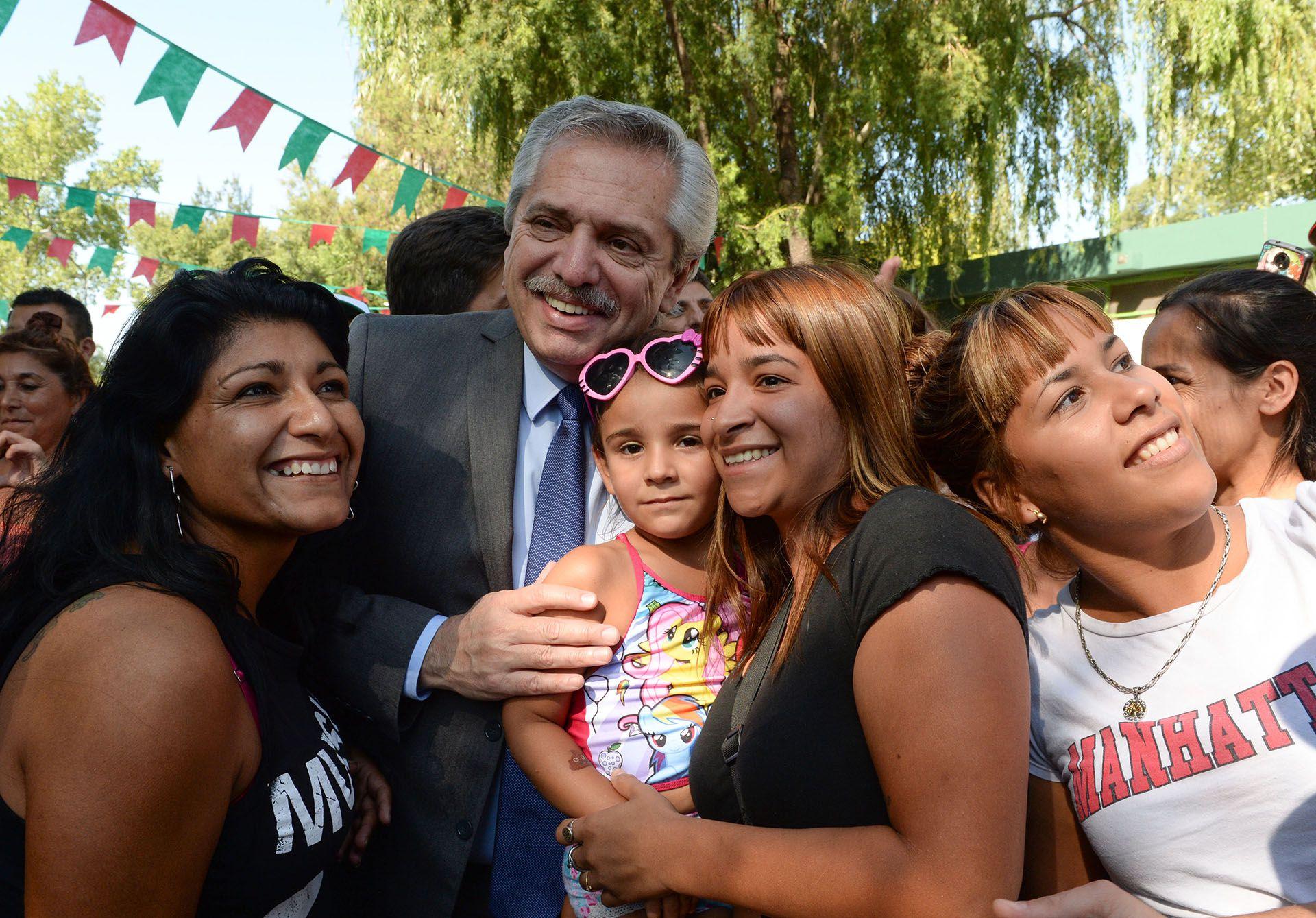 El presidente Alberto Fernández (Prensa Presidencia)