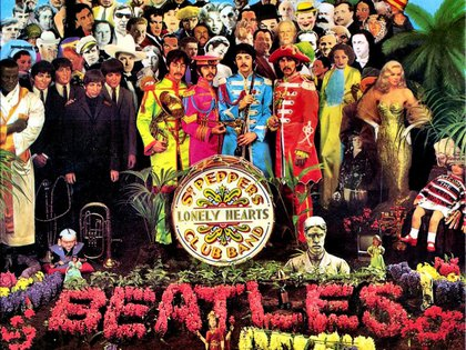 Paul y George exhibieron en sus chalecos las medallas MBE en la tapa del álbum Sgt. Pepper's Lonely Hearts Club