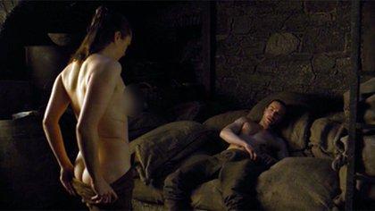 """La escena de sexo entre Arya Stark y Gendry que impactó a los fans de """"Game of Thrones"""""""