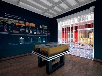 En la casona se dispondrán los bienes y objetos que pertenecieron al libertador San Martín