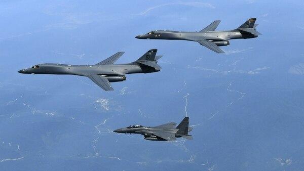 Bombarderos del ejército de los Estados Unidos.