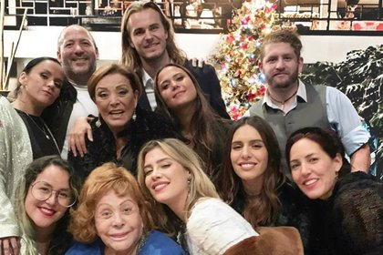 Parte de la familia de Silvia Pinal  (IG: sylviapasqueloficial)