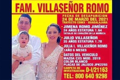 """Enrique Alfaro anunció la aparición de la familia Villaseñor, """"levantados"""" en el municipio de Acatic, Jalisco"""
