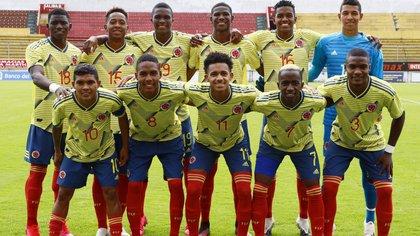 Selección Colombia Sub 20. / Federación Colombiana de Fútbol.
