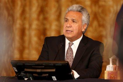 En la imagen, el presidente de Ecuador, Lenín Moreno (EFE/José Jácome/Archivo)