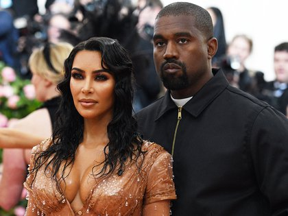 Mandatory Credit: Photo by Clint Spaulding/Shutterstock (10227716lm) Kim Kardashian and Kanye West Costume Institute Benefit celebrating the opening of Camp: Notes on Fashion, Arrivals, The Metropolitan Museum of Art, New York, USA - 06 May 2019