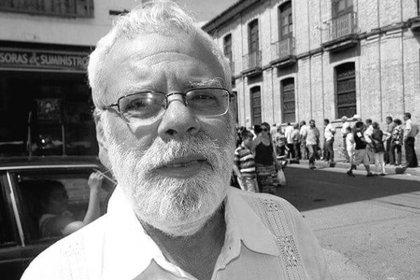 Líder social Jorge Solano.