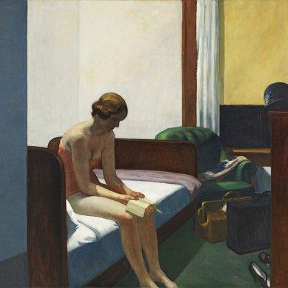 """Habitación de hotel"", de Edward Hopper. Museo Thyssen-Bornemisza"