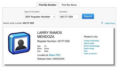 El ingreso de Ramos al FBI puede ser verificado (Foto: Captura de pantalla)