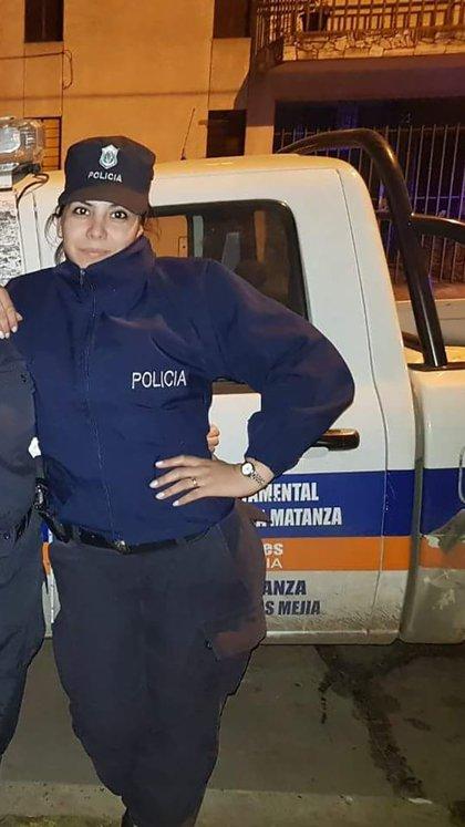 Rocío Villarreal, la policía baleada durante el enfrentamiento y quedó parapléjica