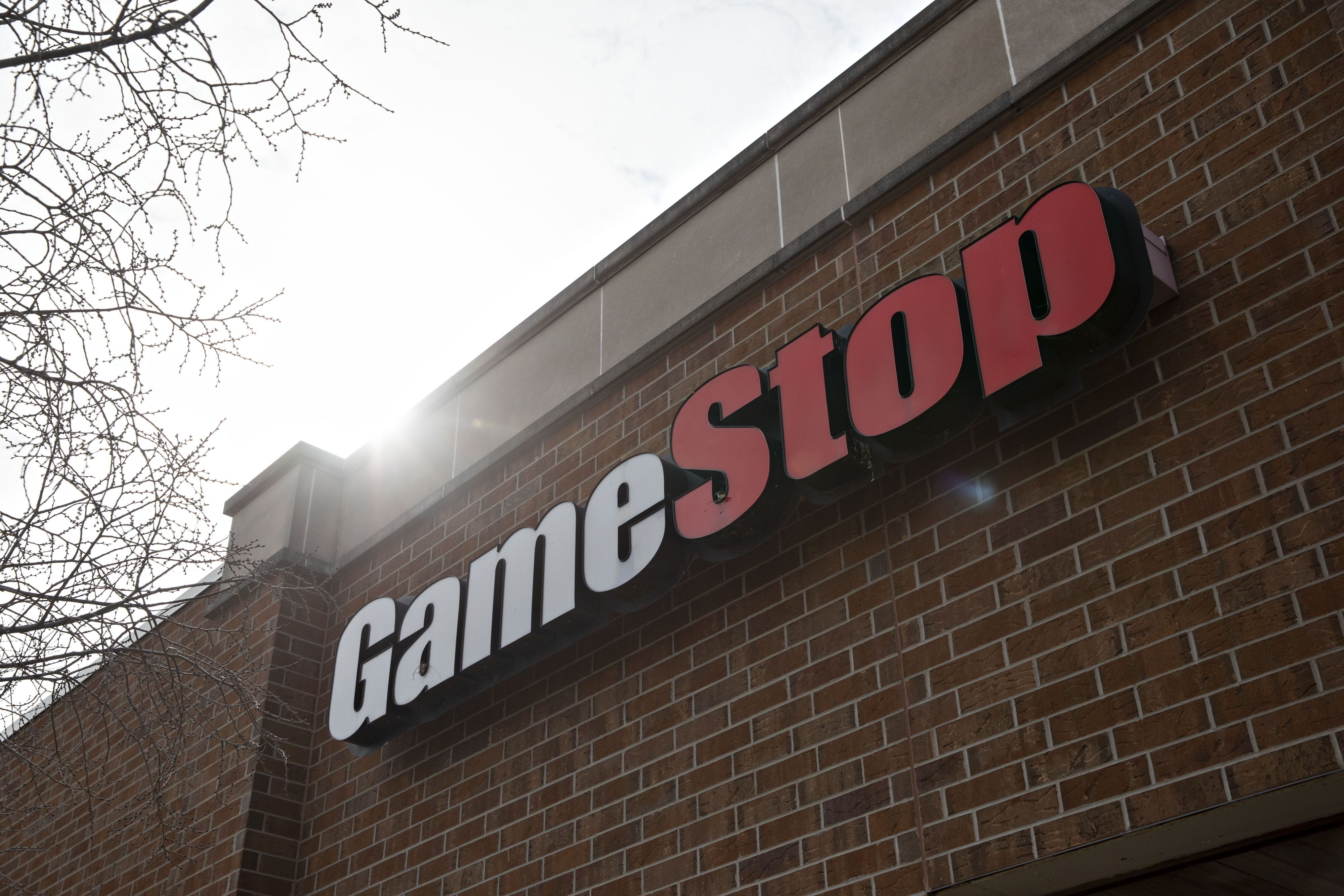 Signage is displayed at a GameStop Corp. store in Peru, Illinois, U.S., on Monday, April 1, 2019. GameStop is scheduled to release earnings figures on April 2. Photographer: Daniel Acker/Bloomberg