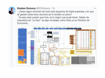 """El galimatías del esquema de distribución de recursos, que Domecq llamó """"un engendro"""""""