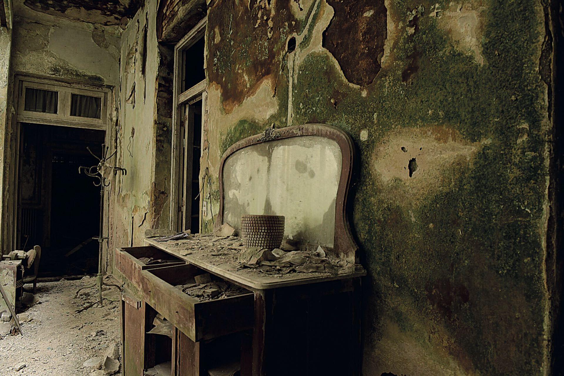 La casa abandonada de la familia Barreda