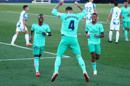 Leganés se fue a segunda tras el empate ante el Real Madrid, campeón de España (Foto: Sergio Perez/ Reuters)