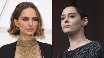 La dura denuncia de Rose McGowan a Natalie Portman por su capa feminista de los premios Oscar