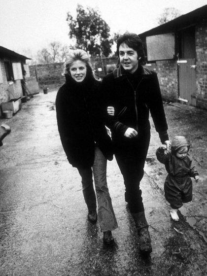 Paul e Linda optam por ter uma vida tranquila de campo com seus filhos (Gunther)