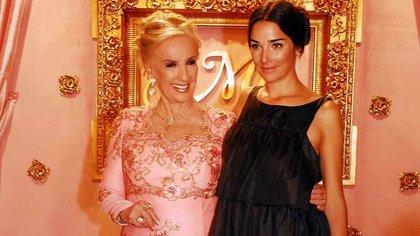 Mirtha Legrand y Juanita Viale