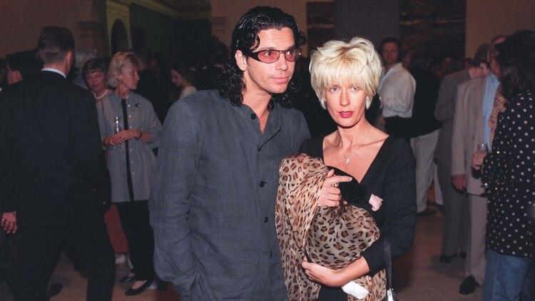 Michael Hutchence tuvo una hija con Paula Yates, Tiger Lily, en 1996. (Sydney Morning Herald/Shutterstock)