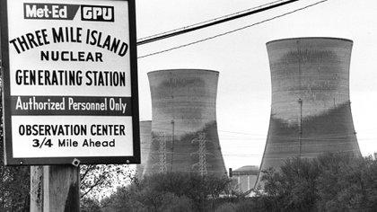 En el accidente nuclear de la central de Three Mile Island no hubo muertos