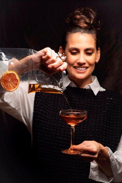 Nueva normalidad para la bartener y empresaria Mona Gallosi