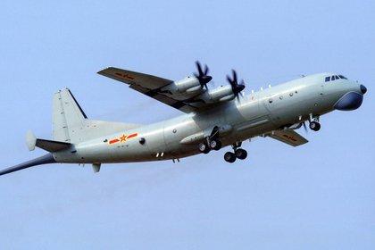 Avión Y-8 del ejército chino, que entró en la zona de identificación de Taiwán